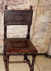 silla española antigua a $