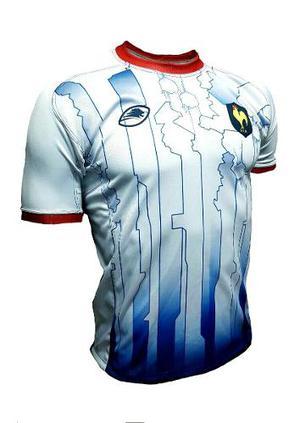 Camiseta seleccion francia rugby azul  f3904446b97be