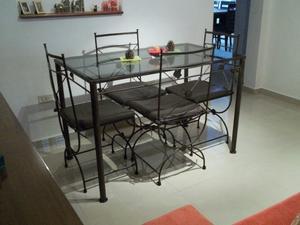 Hermso comedor 4 sillas !! Diseño exclusivo !! Flete sin