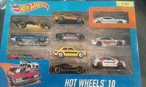 Hot Wheels Originales Autos Autito  Pack X 10 Local