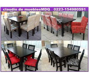Mesas, sillas, fabrica Mar del Plata