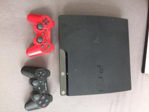 Playstation 3 + 2 Controles + God Of War Ascension