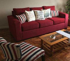 Sofa de living 3 cuerpos