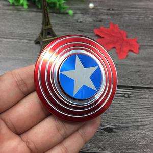 Spinner Capitan America,Iron Man Unicos