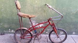bicicleta de epoca a restaurar