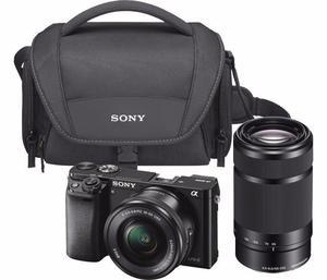 Cámara Sony Alpha A –Mirrorless Digital Camera - 24.3