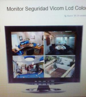 Monitor vicom 12 seguridad