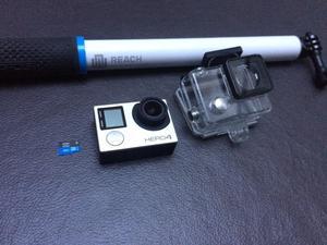 Go Pro 4 Hero Silver 4k + Selfie Stick Go Pro + Sd 32gb