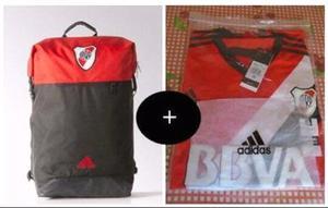 Mochila de fútbol River Plate + Camiseta De River Plate