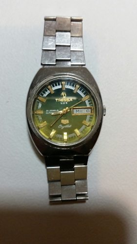 Reloj Tressa Automático Acero Máquina As. Con Service.