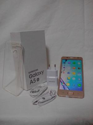 Samsung Galaxy A5 6 Dorado en su Caja