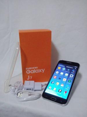 Samsung Galaxy J7 Negro en su Caja