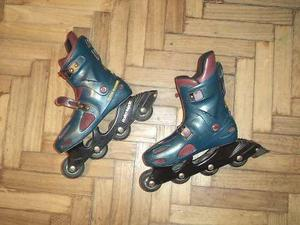 Patines Rollers Usados, Talle 42