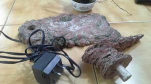 Piedra Calefactaria Para Reptiles 35cmx16cm