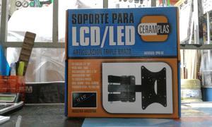 Soporte Lcd/Led hasta 42 pulgadas movil
