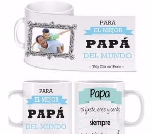 Tazas cerámica personalizadas día del padre