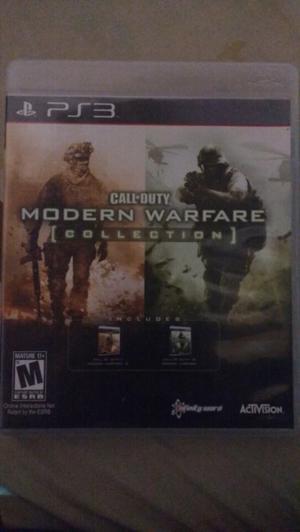 Vendo juegos de ps3(play station 3) call of duty modern