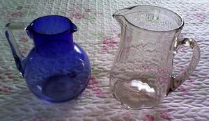 jarras de vidrio para jugo o clericot