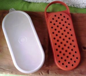 rayador tupperware con contenedor