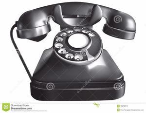 vendo telefono antiguo de bakelitafuncionando