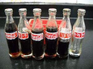 Cajoncito Coleccionable + 6 Botellitas Coca Cola Sanas