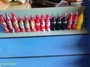 Lote De Botellas De Coca Cola Llenas