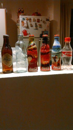 Vendo Lote De Botellas De Colección