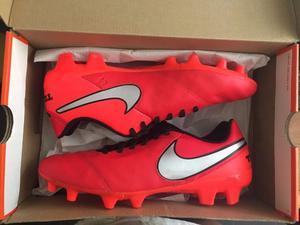 Botines Nike Tiempo Genio Leather FG NUEVOS