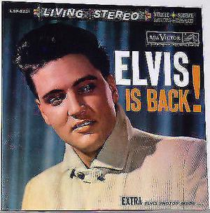 Elvis Is Back! - Audiophile- 45 rpm!!!