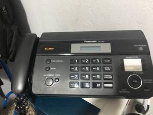 Fax Teléfono Panasonic Kx Ft982 Impecable