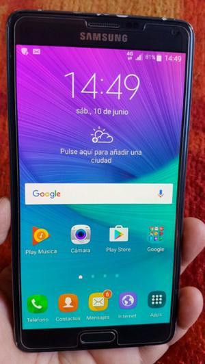 Samsung note 4 libre de fabrica 4g lte.