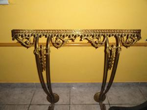 dressoire antiguo de bronce y onix