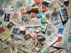 estampillas postales antiguas de varios países