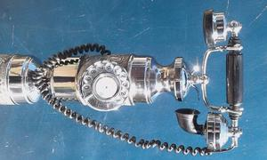 telefono antiguo funcionando