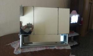espejo con botiquin para bao impecable with espejos rusticos para bao