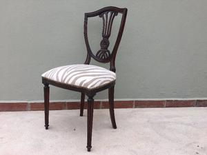 Juego de sillas Luis XVI