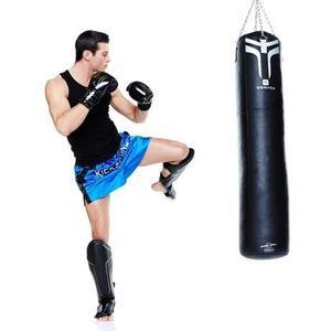 Kit Kick Boxing Boxeo,tibiales Guantes Box 12 Oz
