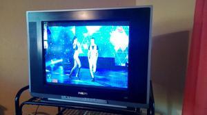 tv philips 21 pantalla plana