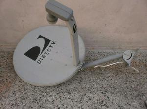 Antena Direc TV + Cable satelital+ 2 decodificadores y
