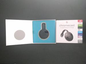 ÚLTIMAS 2 UNIDADES google chromecast2 nuevo en caja 1x$