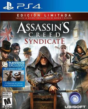 Assassins Creed Syndicate Para Ps4 Juego Fisico Sellado!!!