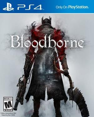 Bloodborne Para Ps4 Juego Fisico Sellado!!!