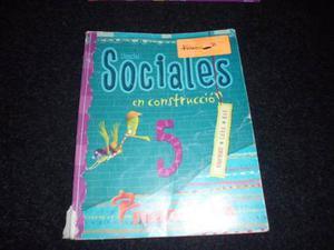 Ciencias Sociales 5 - Ed. Mandioca. En Construcción