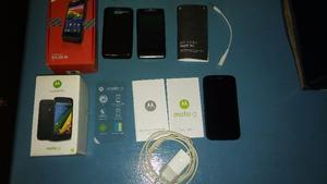 Combo Celulares Motorola Moto G Y Razr D1 Tv. Liberados