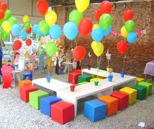 Mini Puff Cubo Eventos Fiestas Somos Fabricantes Garantia