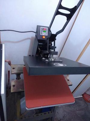 Sublimadora y estampadora de 38 x 38 cm de superficie