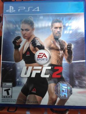 UFC 2 PARA PS4 JUEGO FISICO NUEVO SELLADO!!!