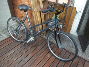 Bicicleta de mujer con cambios rodado 26