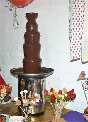Cascada De Chocolate 5 Pisos 1 Metro + 5 Kg De Chocolate