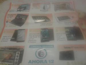 Se venden tablets.netbook celulares.horno el tricolor. Etc